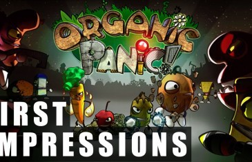 Organic Panic Gameplay | First Impressions HD