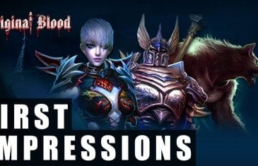 Original Blood Gameplay | First Impressions HD