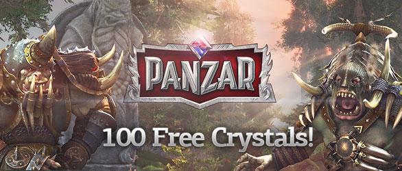 PANZAR Free Crystals Giveaway