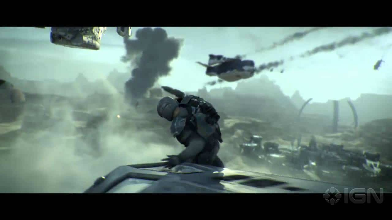 Planetside 2: Death Is No Excuse Cinematic Trailer