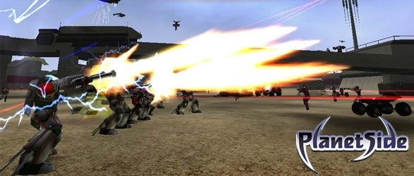 PlanetSide 2 – ForgeLight Engine Showcase At GDC