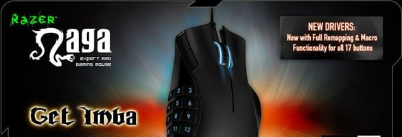 Razer announces left-handed version of the Naga MMO gaming mouse