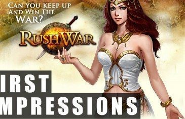 Rushwar Gameplay | First Impressions HD