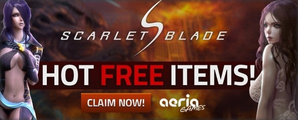Scarlet Blade – Item Key Giveaway