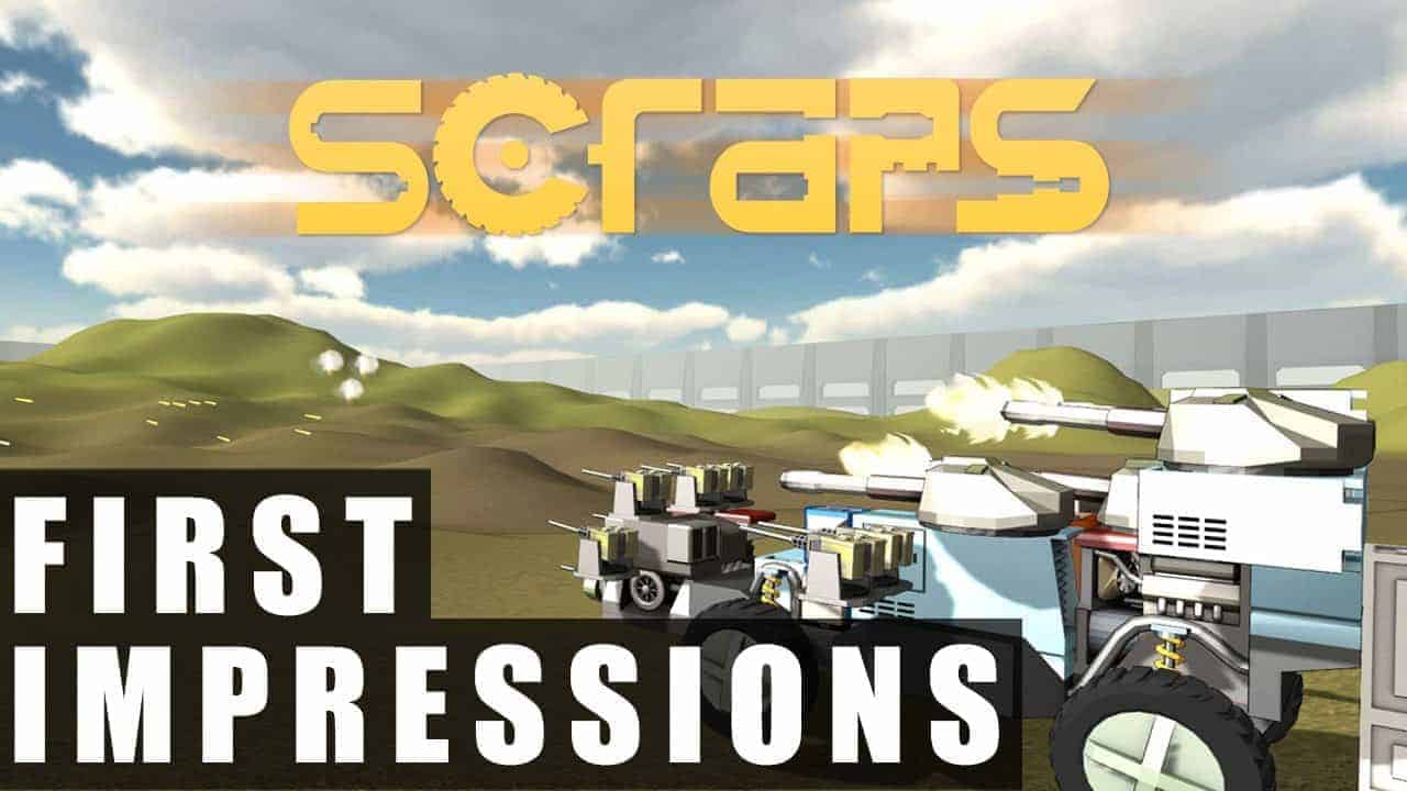 Scraps Gameplay | First Impressions HD
