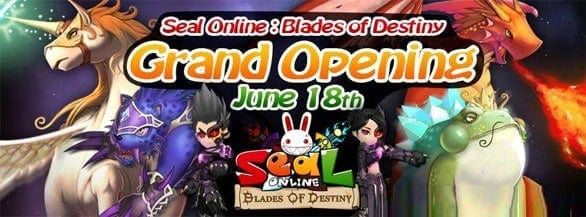 Seal Online Anime MMO Re-Launched