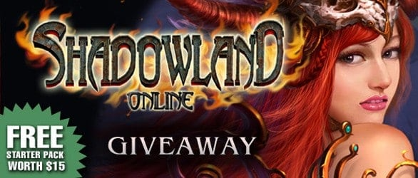 Shadowland Online – Vanguard Server Gift Pack Giveaway