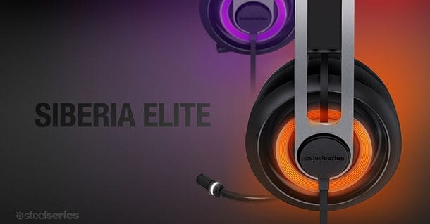 SteelSeries Introduces the Siberia Elite Headset