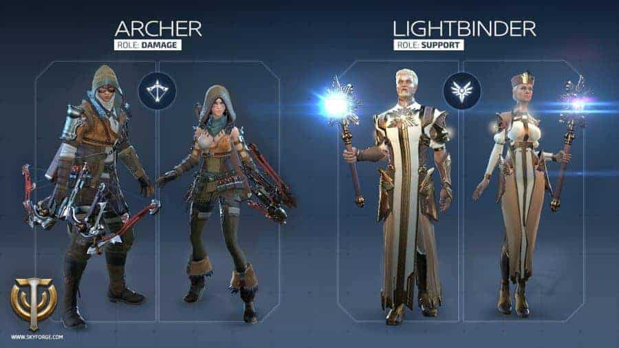 skyforge-archer-light-classes
