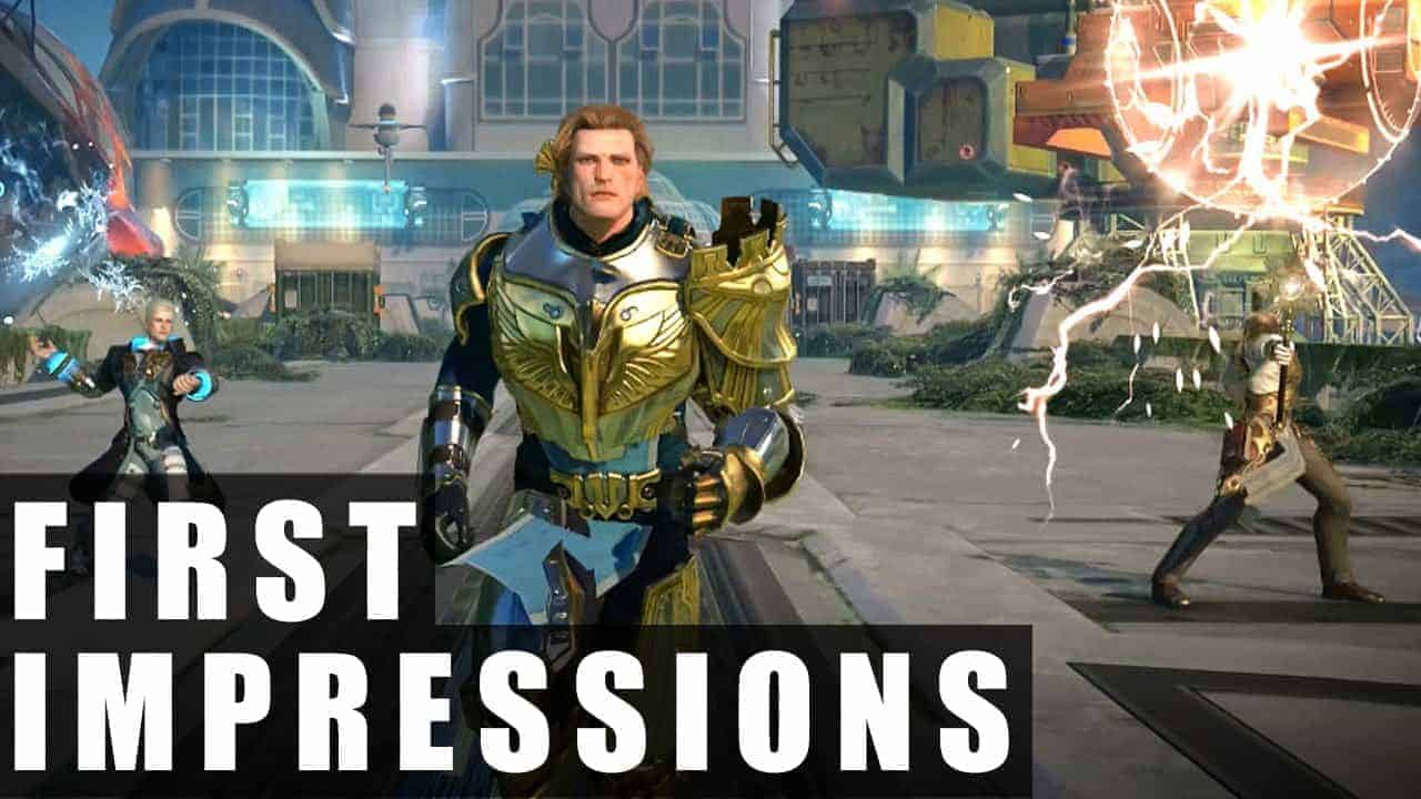Skyforge Closed Beta Gameplay | First Impressions HD