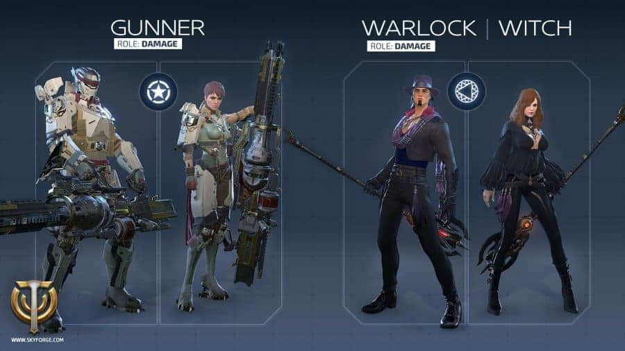 skyforge-gunner-witch-classes