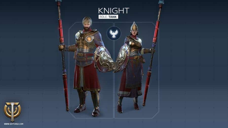 skyforge-knight-classes