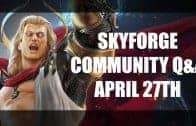 Skyforge PvP, Physics, Classes, Customization and more! | Skyforge Q&A April 27th