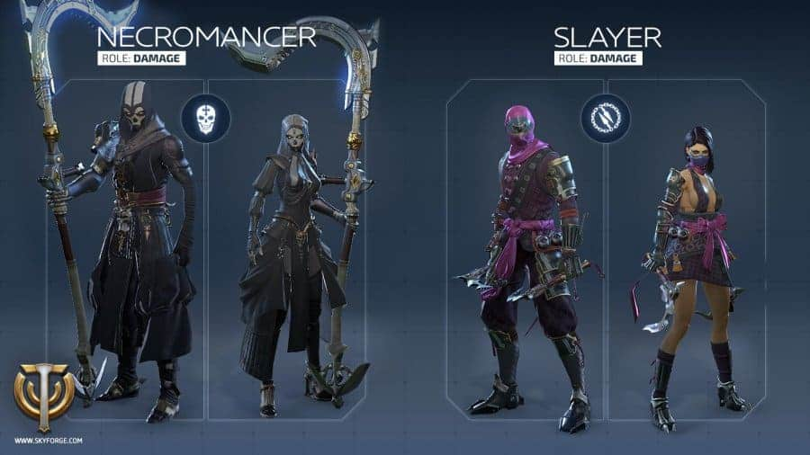 skyforge-slayer-necro-classes
