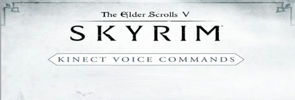 Skyrim: 200 Kinect voice commands