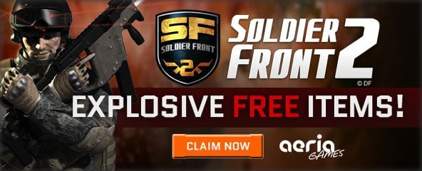Soldier Front 2 Closed Beta Item Keys Giveaway