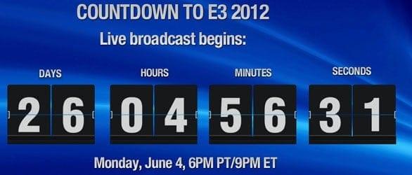 Sony's E3 countdown