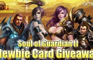 Soul of Guardian II – Newbie Card Giveaway
