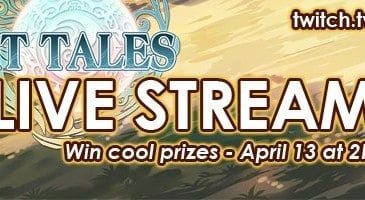 Watch the Spirit Tales Live Stream on April 13 and Win Exclusive Prizes