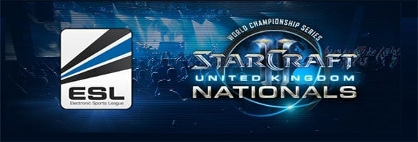 ESL Starcraft 2 United Kingdom Nationals being held June 30th, July 1st