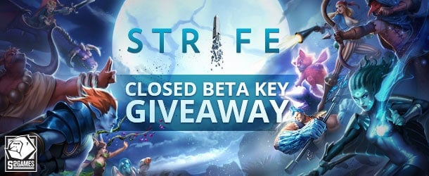 Strife Closed Beta Key Giveaway