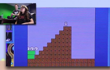 The Infuriating Cat Mario – Challenge Attack 1