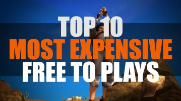Top 10 Most Expensive Free to Play Games | MMO ATK Best 10