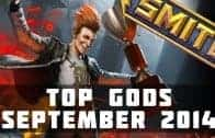 Top Played SMITE Gods (September 2014) | SMITE