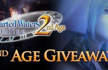 Uncharted Waters Online 2nd Age Giveaway