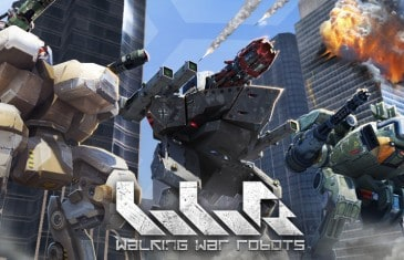 walking war robots game feature