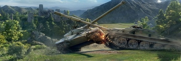 Race Iconic World War II Tanks Online In New WoT Update