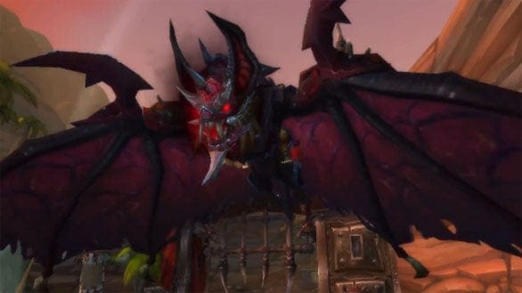 World of Warcraft – New Armored Bloodwing Mount