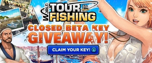 World Tour Fishing Closed Beta Key Giveaway