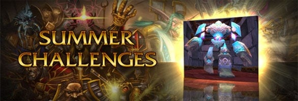 WoW introduces summer challenges
