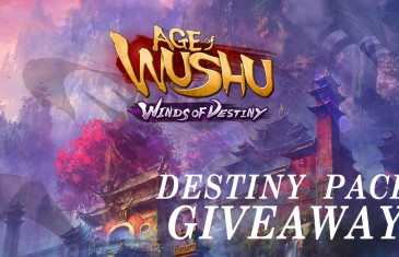 Age of Wushu: Winds of Destiny Gift Pack Giveaway