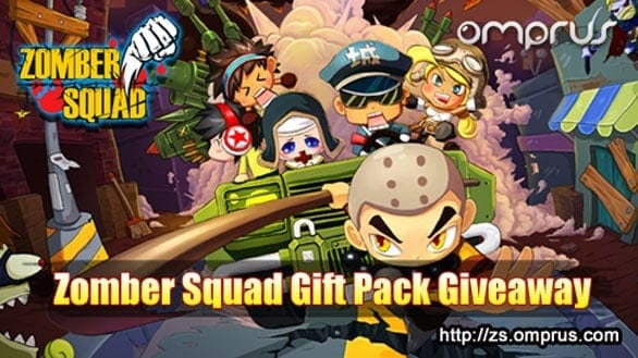 Zomber Squad – Gift Pack Cards Giveaway